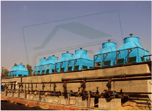 FRP Cooling Tower in Wave Industries, Dhanaura